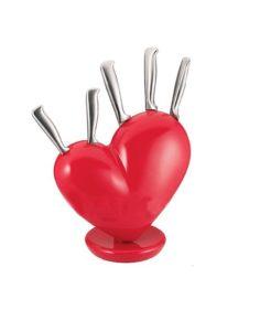 Поставка за ножове сърце