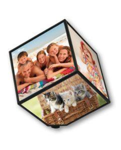 Рамка за снимки голям куб