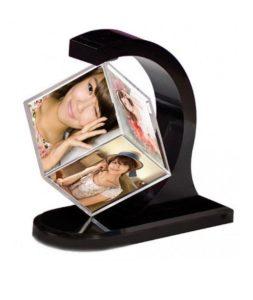 Рамка за снимки малък куб
