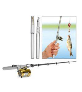 Fishing-Rod-font-b-Pen-b-font-Set-Aluminium-font-b-Alloy-b-font-font-b
