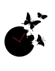 Часовник времето отлита